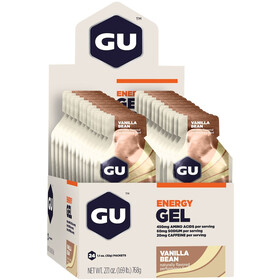 GU Energy Energy Gel Box Vanilla Bean 24x 32g